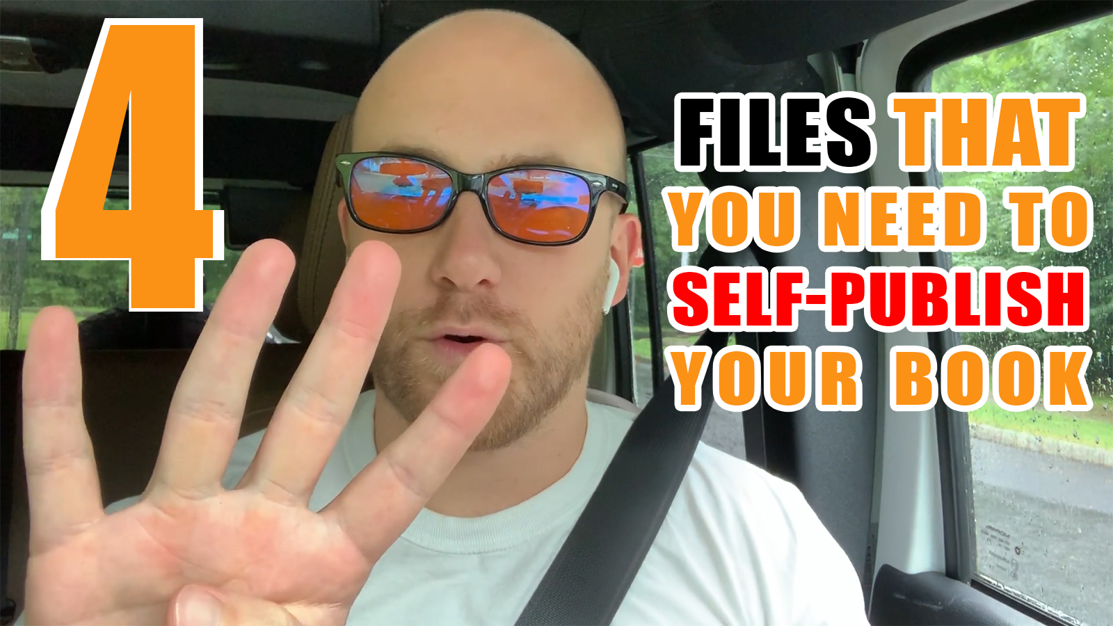 The 4 Files That You Need To Self-Publish Your Book